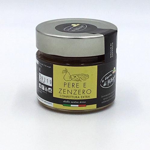 Confettura PERA E ZENZERO 190 GR.