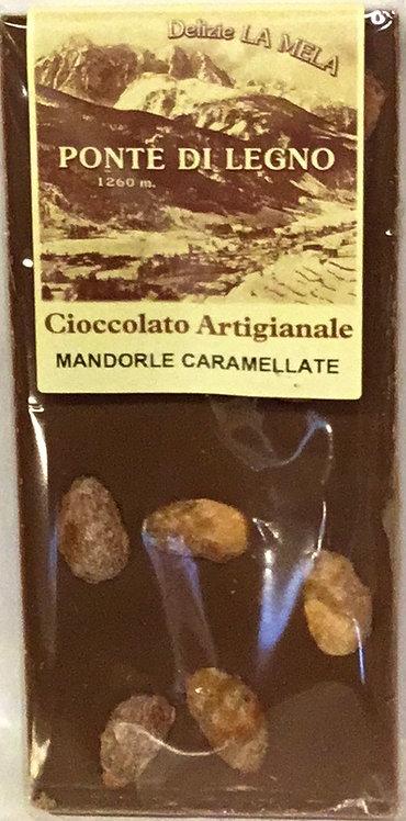 Cioccolato MANDORLE latte 100 Gr.