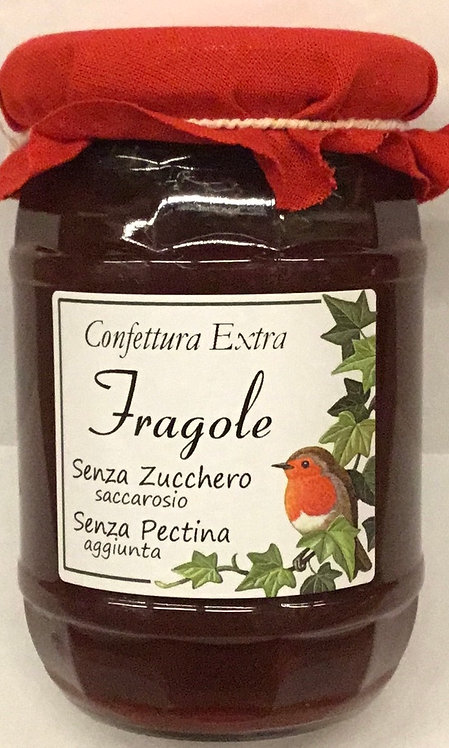 Confettura FRAGOLA 340 GR.