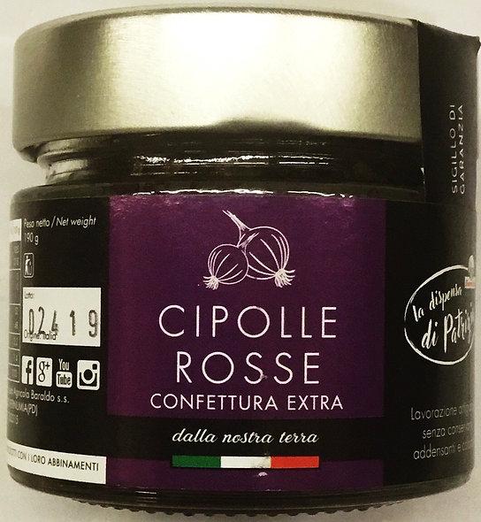 Confettura CIPOLLE ROSSE 190 GR.