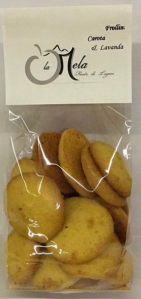 Biscotti locali CAROTE LAVANDA 250 Gr.