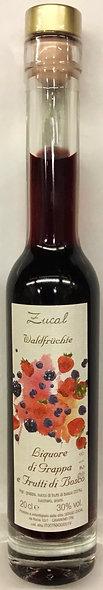 Liquore Grappa FRUTTI DI BOSCO 200 ml.