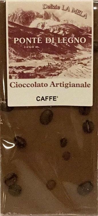 Cioccolato CAFFE' latte 100 Gr.