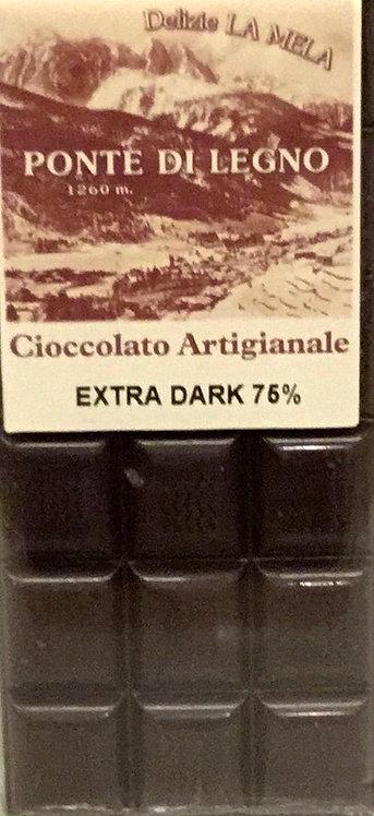 Cioccolato CLASSICO fondente 75% 100 Gr.