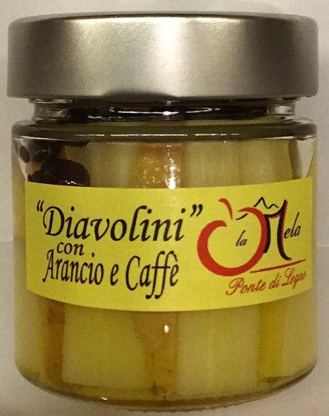 Zuccherini ARANCIO CAFFE' in alcol 212 ml.