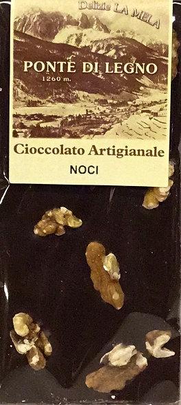 Cioccolato NOCI fondente 100 Gr.