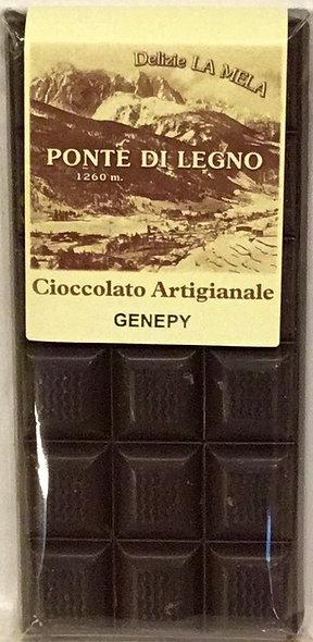Cioccolato GENEPY fondente 100 Gr.
