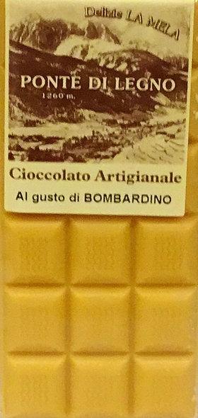 Cioccolato BOMBARDINO bianco 100 Gr.