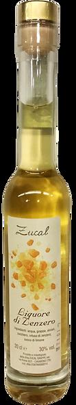 Liquore Grappa ZENZERO 200 ml.