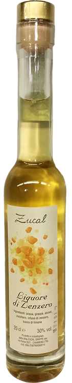 Liquore Grappa ZENZERO 200 ml.