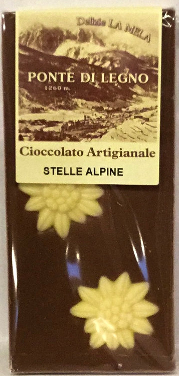 Cioccolato STELLE ALPINE latte 100 Gr.