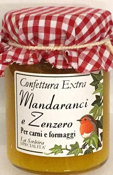 Confettura MANDARANCI ZENZERO 105 GR.