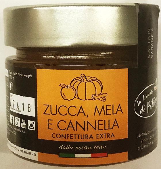 Confettura ZUCCA MELA CANNELLA 190 GR.