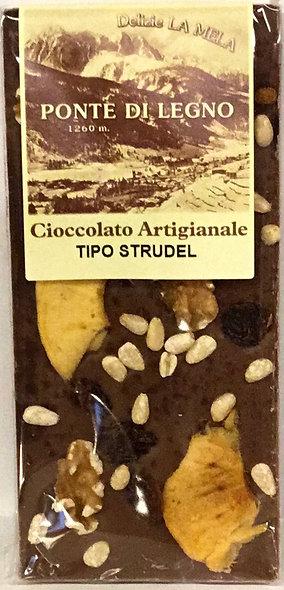 Cioccolato STRUDEL latte 100 Gr.