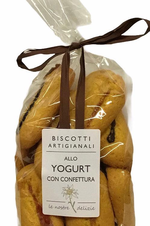 Biscotti locali  YOGURT CON CONFETTURA 250 Gr.