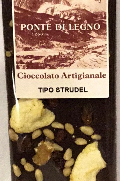 Cioccolato STRUDEL fondente 100 Gr.
