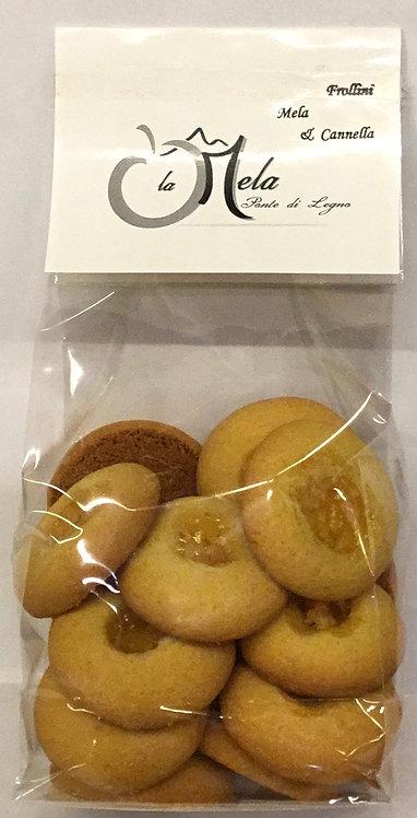 Biscotti locali MELA CANNELLA 250 Gr.