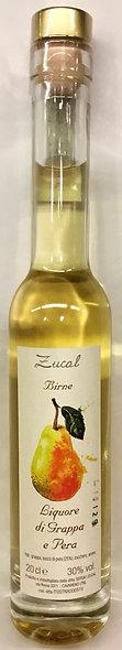 Liquore Grappa PERA 200 ml.
