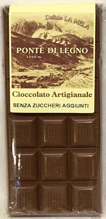 Cioccolato CLASSICO S/ZUCCHERO latte 100 Gr.