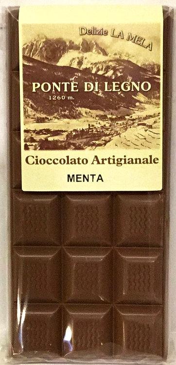 Cioccolato MENTA latte 100 Gr.