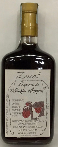 Liquore Grappa LAMPONI 700 ML.