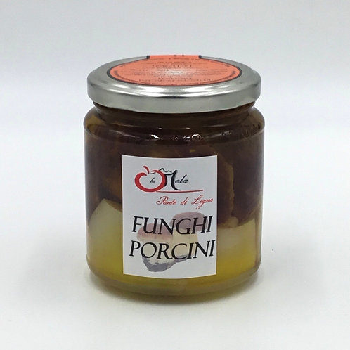 Funghi PORCINI EXTRA sott'olio 340 ml.
