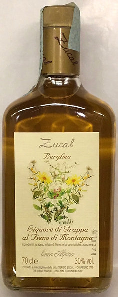Liquore Grappa FIENO 700 ML.