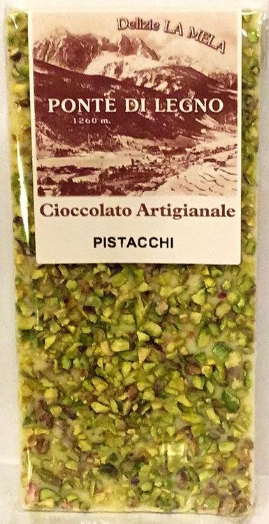 Cioccolato PISTACCHI bianco 100 Gr.