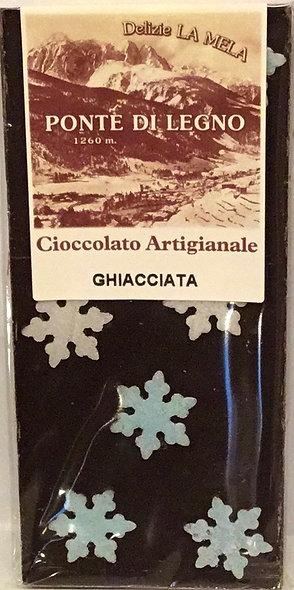 Cioccolato GHIACCIATO fondente 100 Gr.