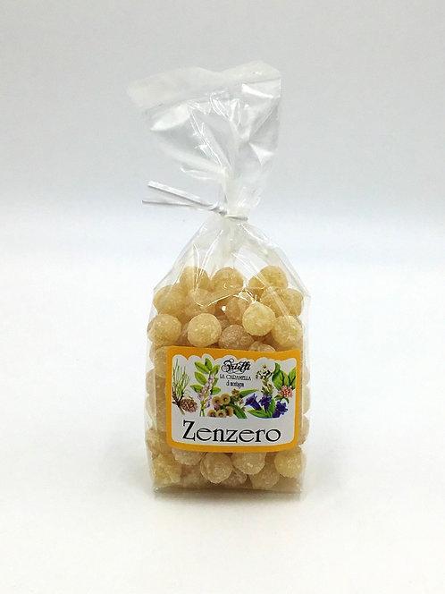 Caramelle di montagna ZENZERO 125 Gr.