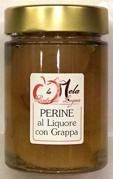 PERINE in liquore con grappa