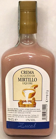 Crema MIRTILLO liquore 700 ml.
