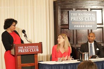 National Press Club with April D Ryan