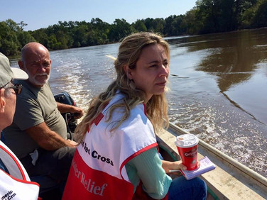 Disaster Mental Health Team Red Cross Hurricane Harvey