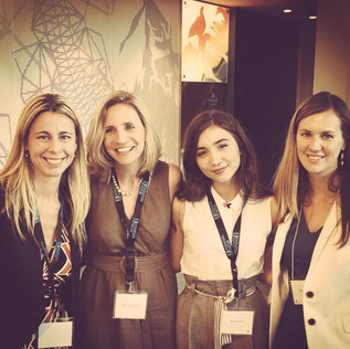 UN Women US National Committee with Maggie Schmitz, Rowan Blanchard and Barbi Appelquist