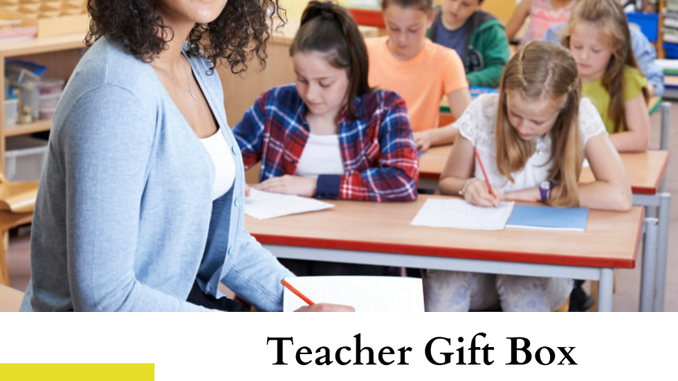 Teacher Gift Box: Limited Edition