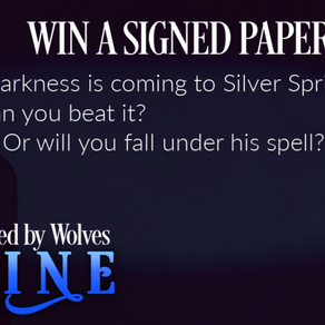 🐺 WIN A SIGNED PAPERBACK!🐺