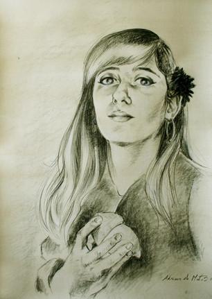 """""""Sel-Portrait with a Lemon"""""""