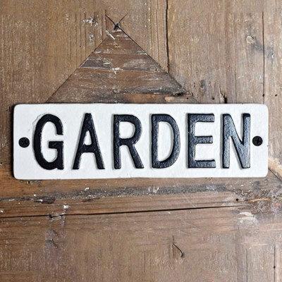 *Inner* Garden Tin Sign