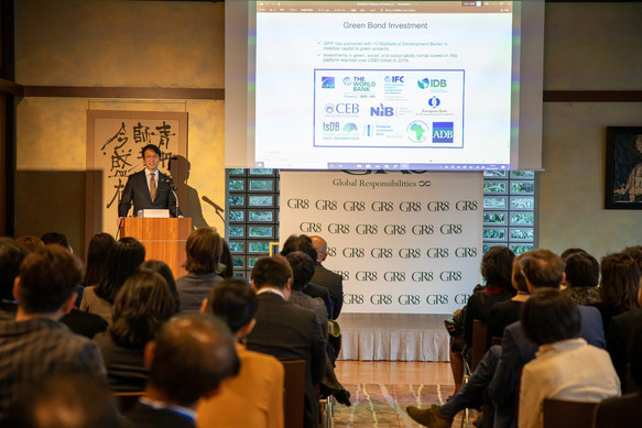 Reimagining Capital Markets for Sustainable & Inclusive Future by Mr. Hiromichi Mizuno - Member of the Board and Asset Owner Advisory Committee of the United Nations' Principles for Responsible Investment (UN-PRI).  Picture Credit: David Schneider