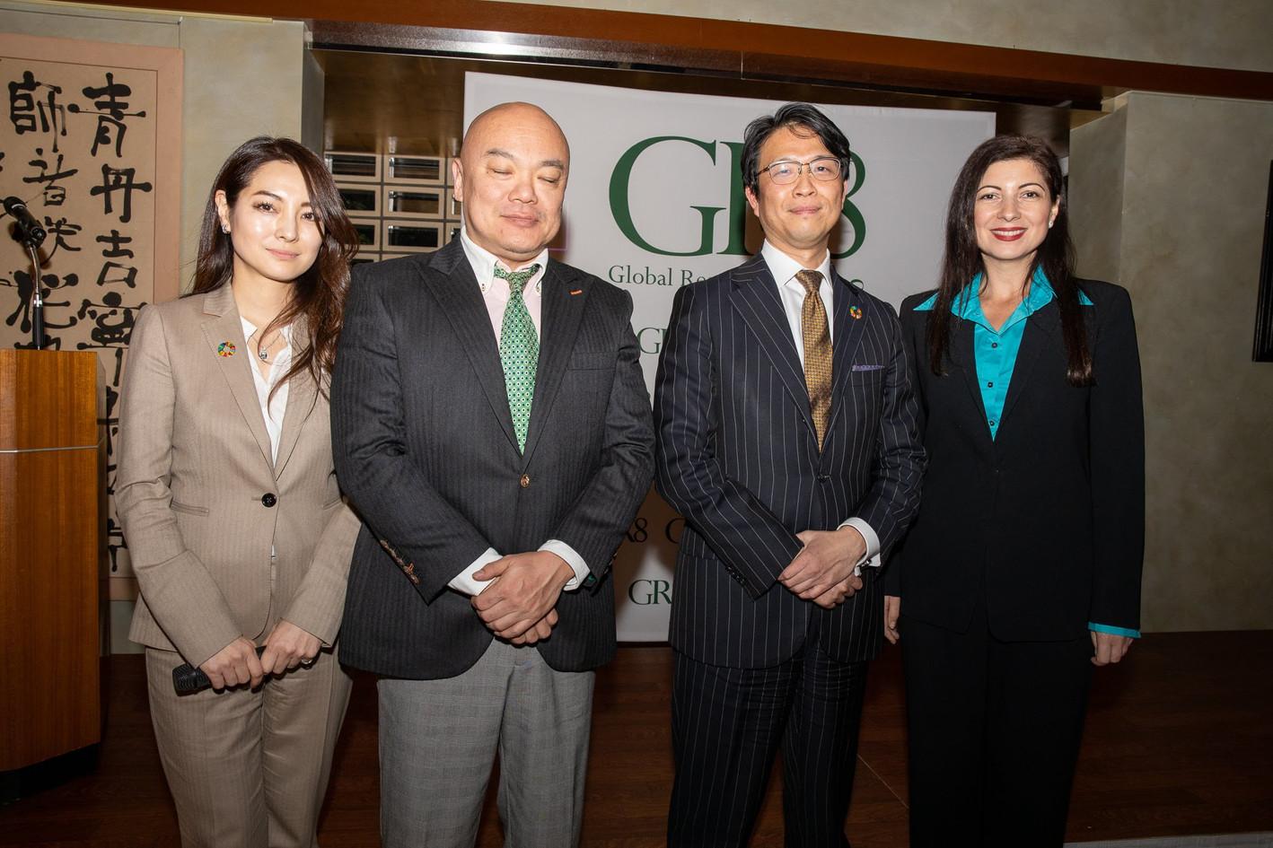 Ms. Sakiko Yamada, Dr. Shunji Mitsuyoshi, Mr. Hiro Mizuno & Ms. Narcisa Pheres.   Picture Credit: David Schneider