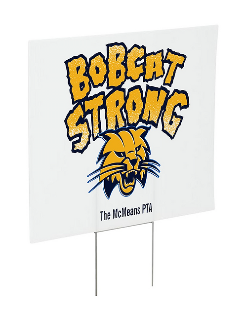 YARD SIGN (with stake)