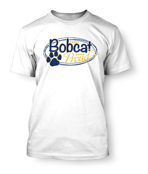 Bobcat Proud T-Shirt PRE-ORDER - White