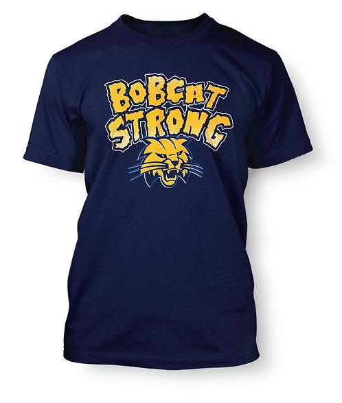 Bobcat Strong T-Shirt - PRE-ORDER - Blue