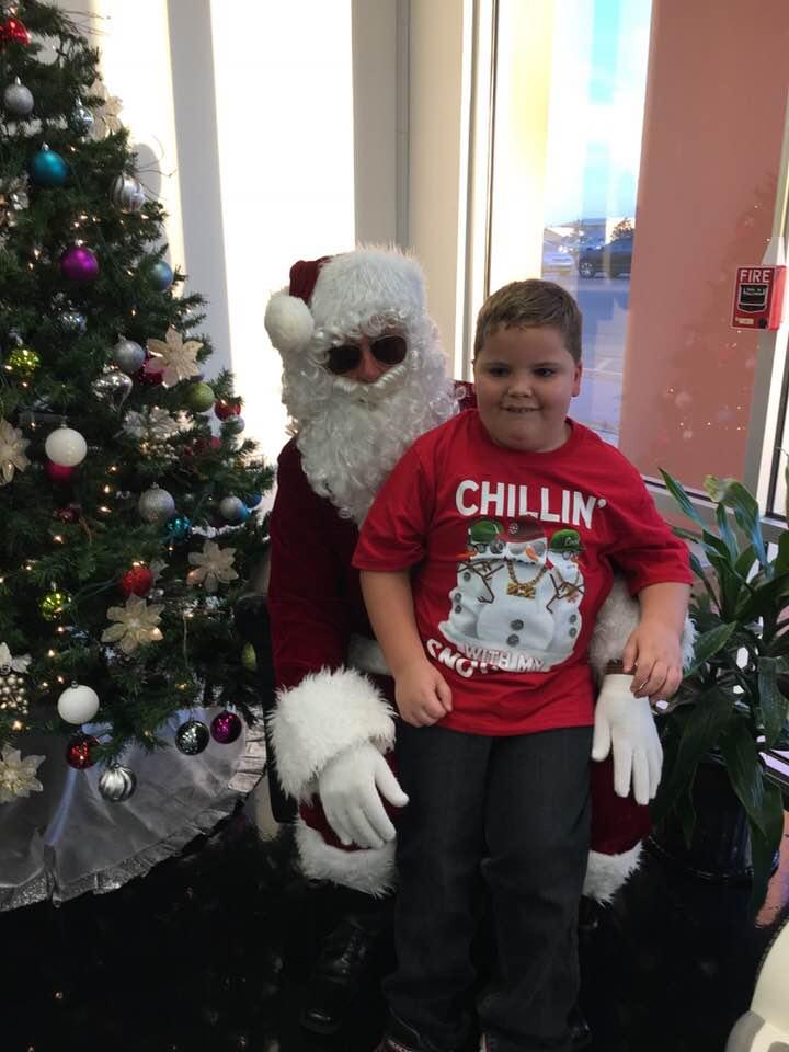 Chillin with Santa