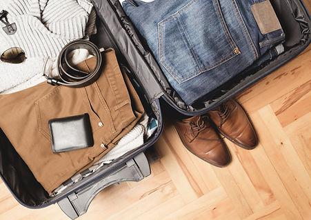 Gepacktes Gepäck