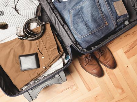 Préparer sa valise pour un départ en avion