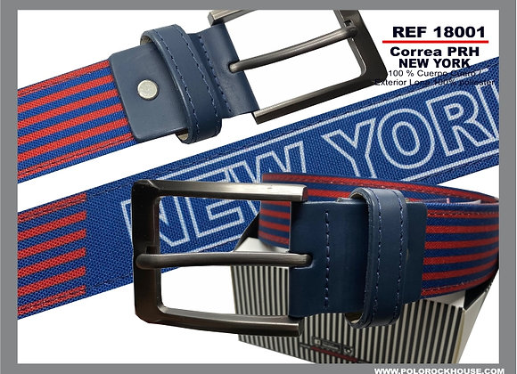 Belt with leather NY