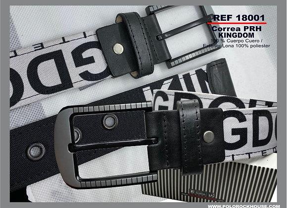 Belt with leather Kingdon
