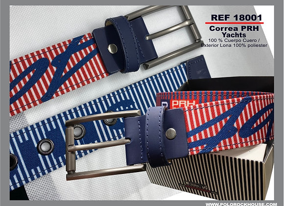 Belt with leather Yachts